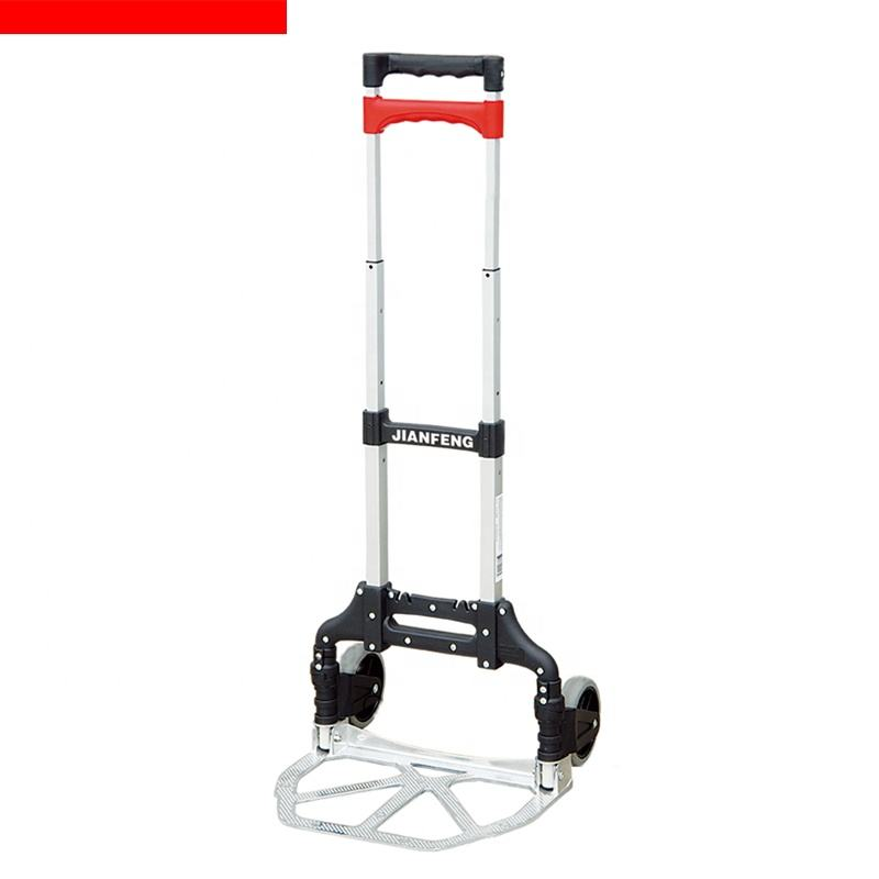 Brand New Easy Folding Hand Truck Aluminum Alloy Folding Dolly with Ergonomic Grips With Good Price