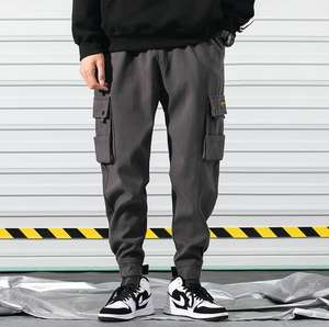 2020 New Fashion Men's Tactical Pant Multi Pockets Hip Hop Cargo Pants