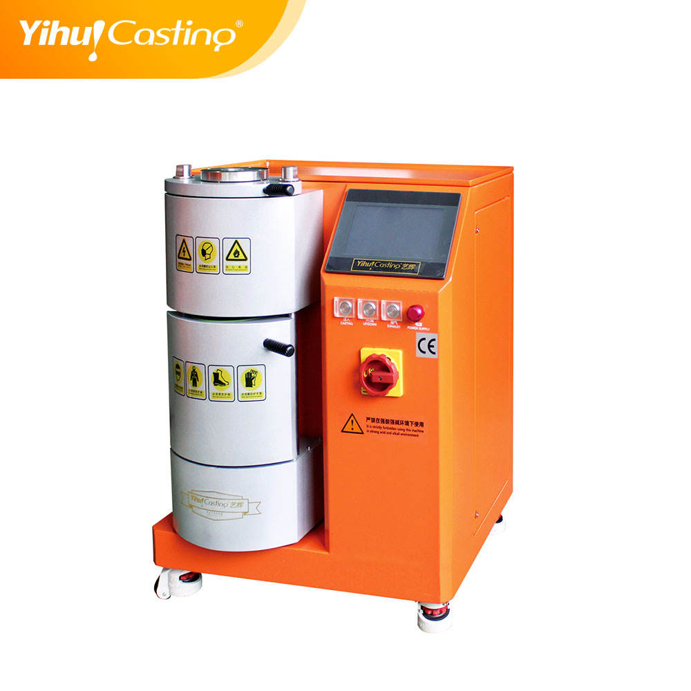 mini type Vacuum pressure casting machine for gold and silver casting