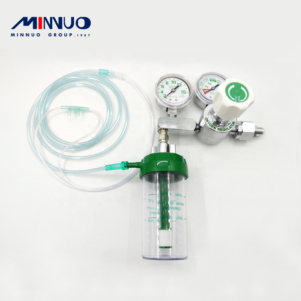 Best quality Minnuo brand customized valve low pressure regulator use for oxygen cylinder hot sale in Peru