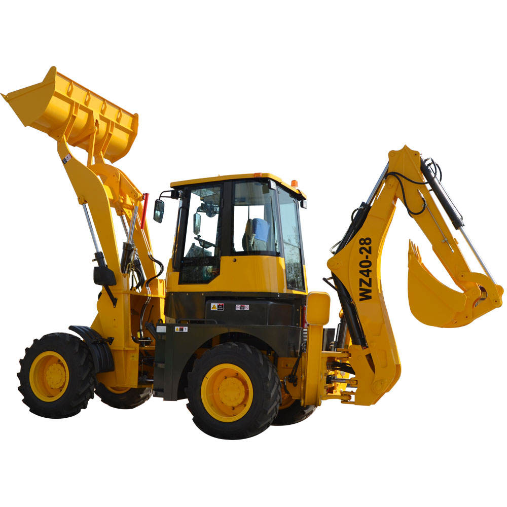 Heracles hot sale articulated backhoe loader machine wz40-28