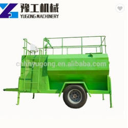 High Efficiency Grass Seed Spraying Hydroseeder Machine Used For Landscaping
