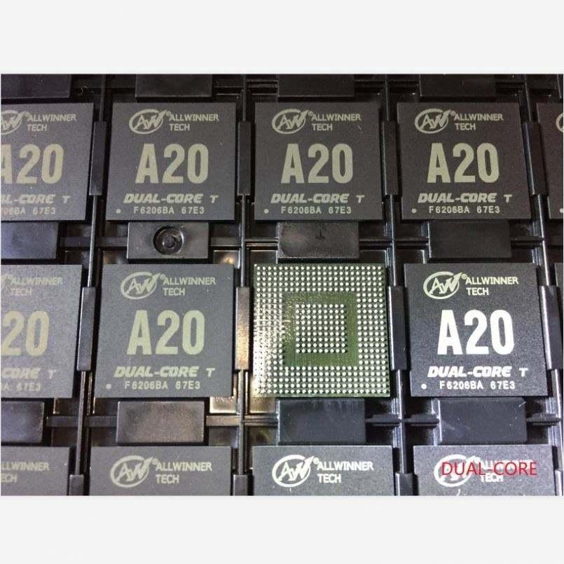 Integrierte schaltung, Elektronik komponenten, H3 A20 A20T A33 A64 CPU prozessor chip computer ic von ALLWINNER