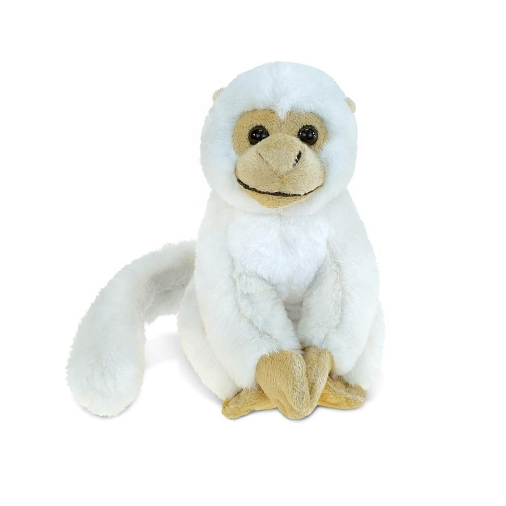 Witte Gorilla Monkey Factory Gevulde <span class=keywords><strong>Oem</strong></span> Zachte Pluche Dier Speelgoed