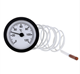 Capillary Thermo meter Water treatment Manometer dry Pressure Gauge Stainless Steel