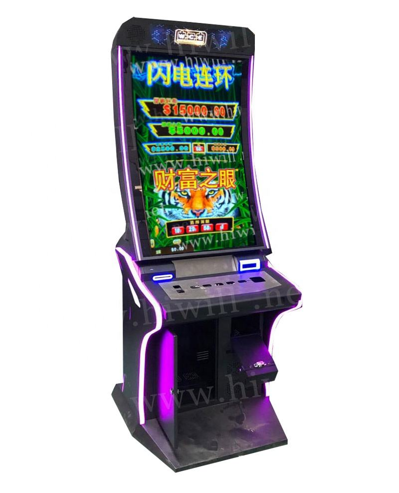 Aristocrat 1ightning Link Eyes of Fortune/Dragon's Riches/Happy Lantern Curved Screen Gambling Casino Slot Machine For Sale