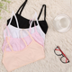 Girls development period cotton underwear cotton thin mold cup Cotton student bra