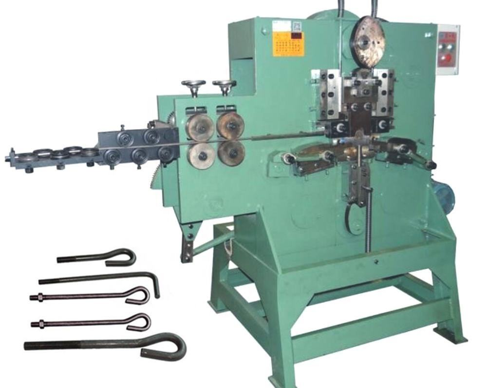 wire buckle making making machine 9 shapes with or without screw