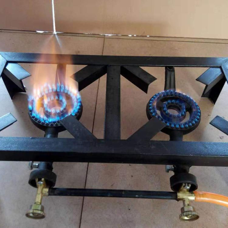 2 burner portable butane gas stove outdoor camping cooking fireplace china double burner gas stove
