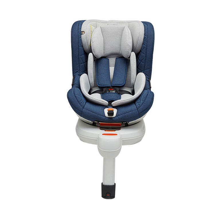 China 0-36Kg Isofix 90 Degree Rotation Child Baby Doll Car Safety Seat With Key Operation