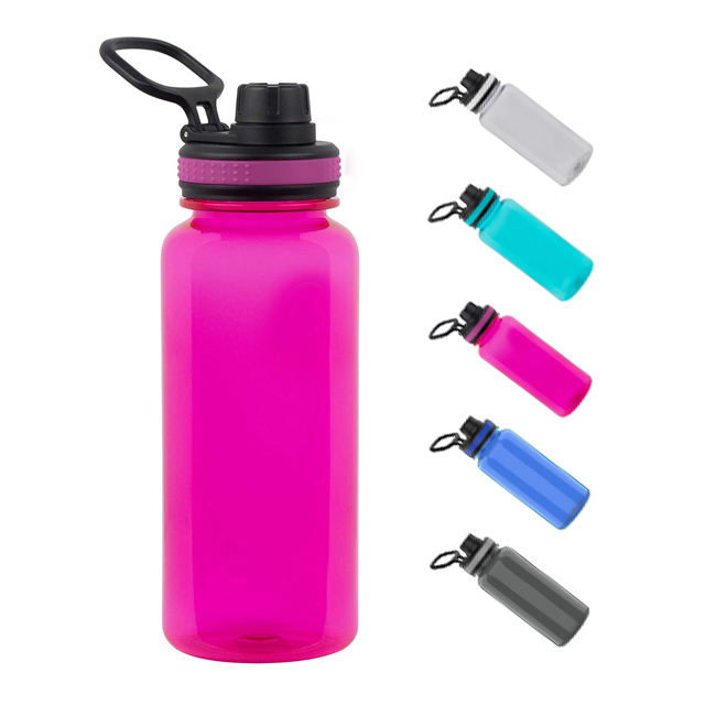 32oz Wholesale Custom Available Plastic Big Sport Water Bottle Tritan Non BPA