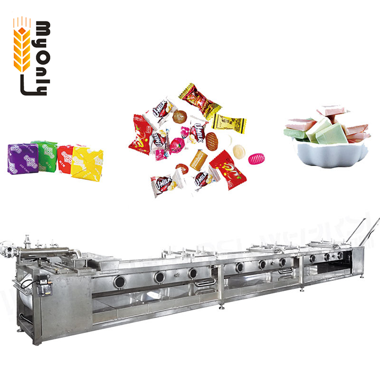 Colorful small soft hard candy machine for candy production