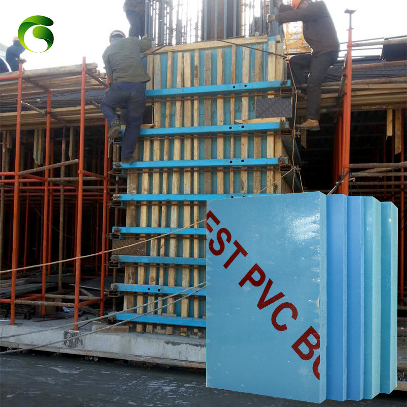 Marc Recycle 50 times concrete building slab beam formwork plastic pvc beam formwork plastic panel for construction