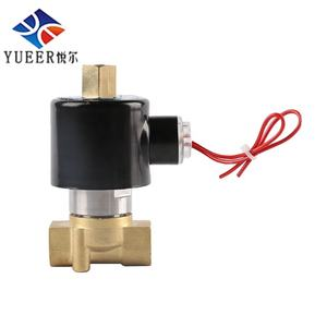 2 Way Brass China Low Price Miniature Control Valves Manufacturer of Normally Open 12v water Air Solenoid Valve
