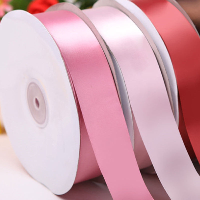 Wholesale cheaper personalized brand name logo custom printed satin ribbon for hair bows