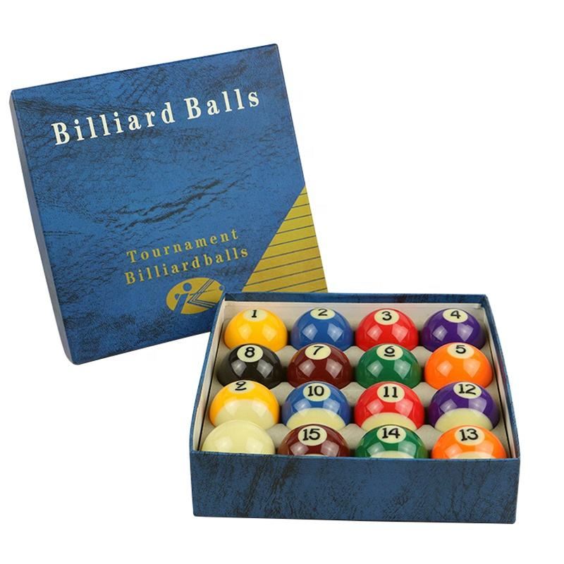 Wholesale snooker accessories 3A Grade pool billiard balls set
