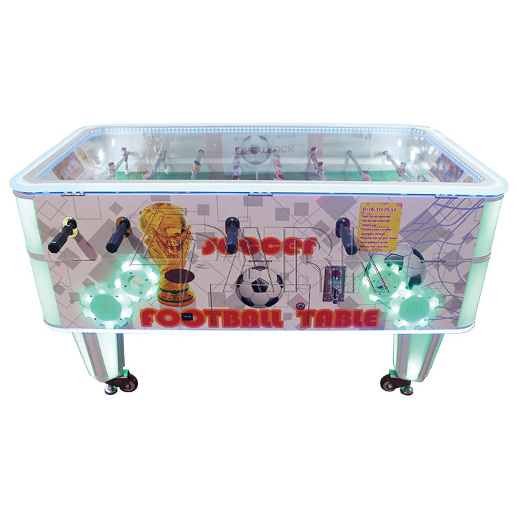 Coin operated professional foosball table multiplayer games hot popular entertainment equipment