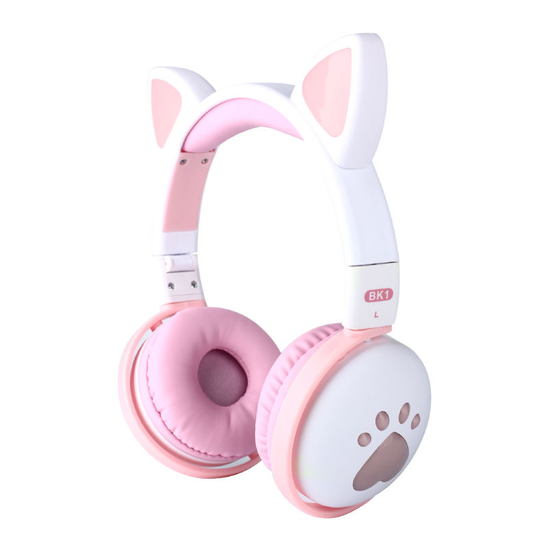 Cartoon Cute Desidn Cat Ears Earphones For Promotion 2020