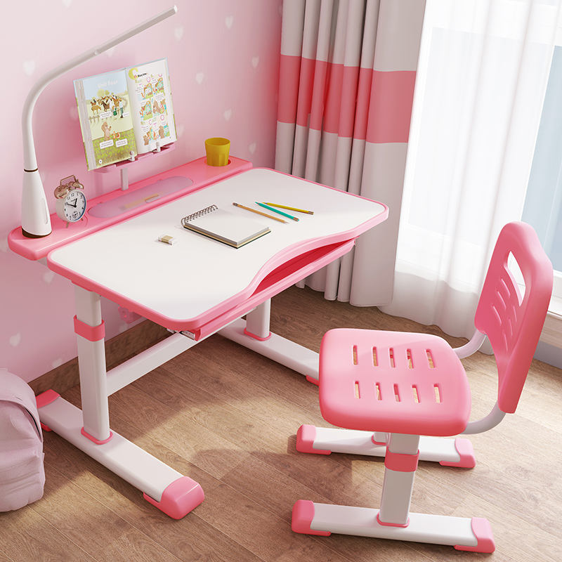 hot selling height adjustable children multifunction study table for kids