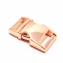High Quality Zinc Alloy 16mm Custom Logo Adjustable Side Quick Release Buckles for Dog Collars