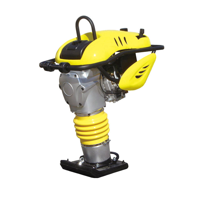 Throttle Control Jumping Jack Tamper Vibratory Compactor Handheld Vibrating Tamping Rammer