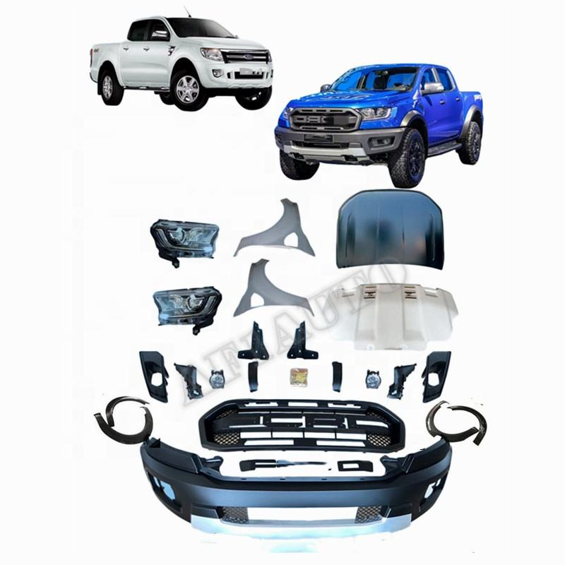 Car Body Kit Accessories Ranger body parts For Ranger T6 2012 Upgrade to Raptor Model