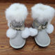 Waterproof snow shoes winter warm children's shoes children's winter boots