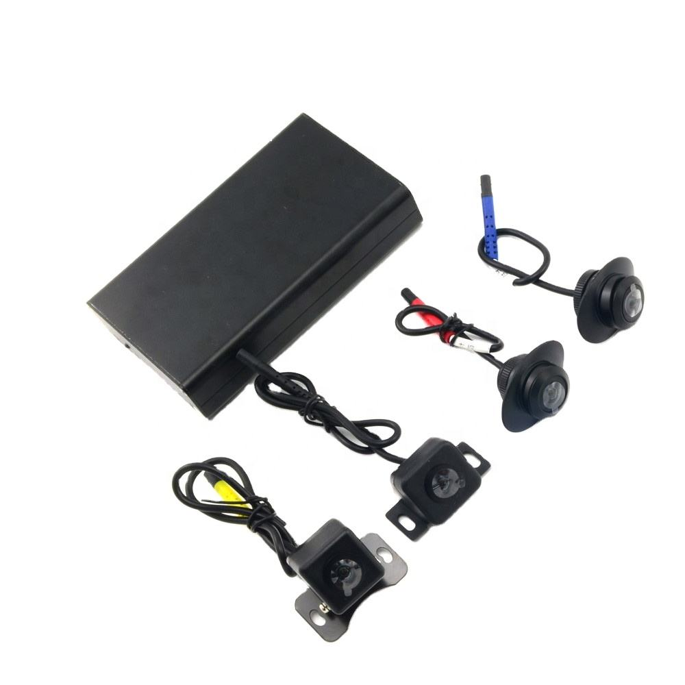 Saferdriving vehicle car blackbox mobile dvr 360 Degree action cams with cheap price XY-360