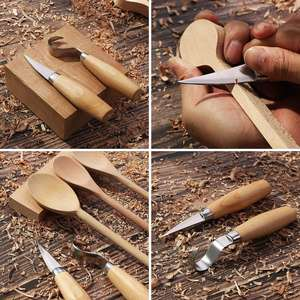 2pcs Wood Carving Tools Kit For Spoon Carving