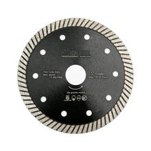 diatool 125mm Hot pressed Super Thin Turbo Diamond Circular Saw Blade Cutting disc for Tile Porcelain Granite