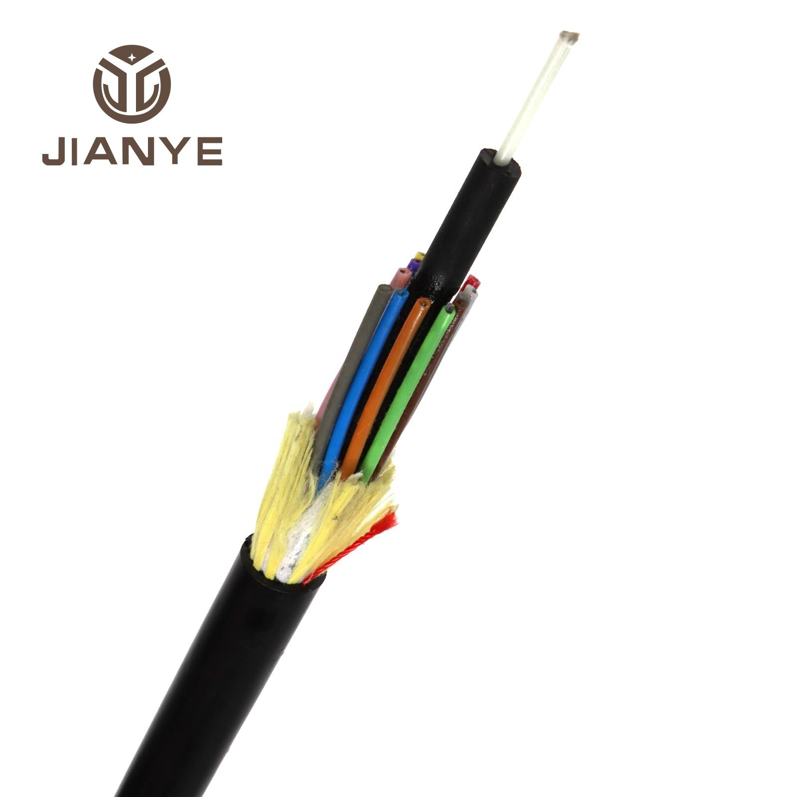 Factory manufacturers fiber optic cable ADSS 6 12 24 48 core Outdoor fiber optic cable