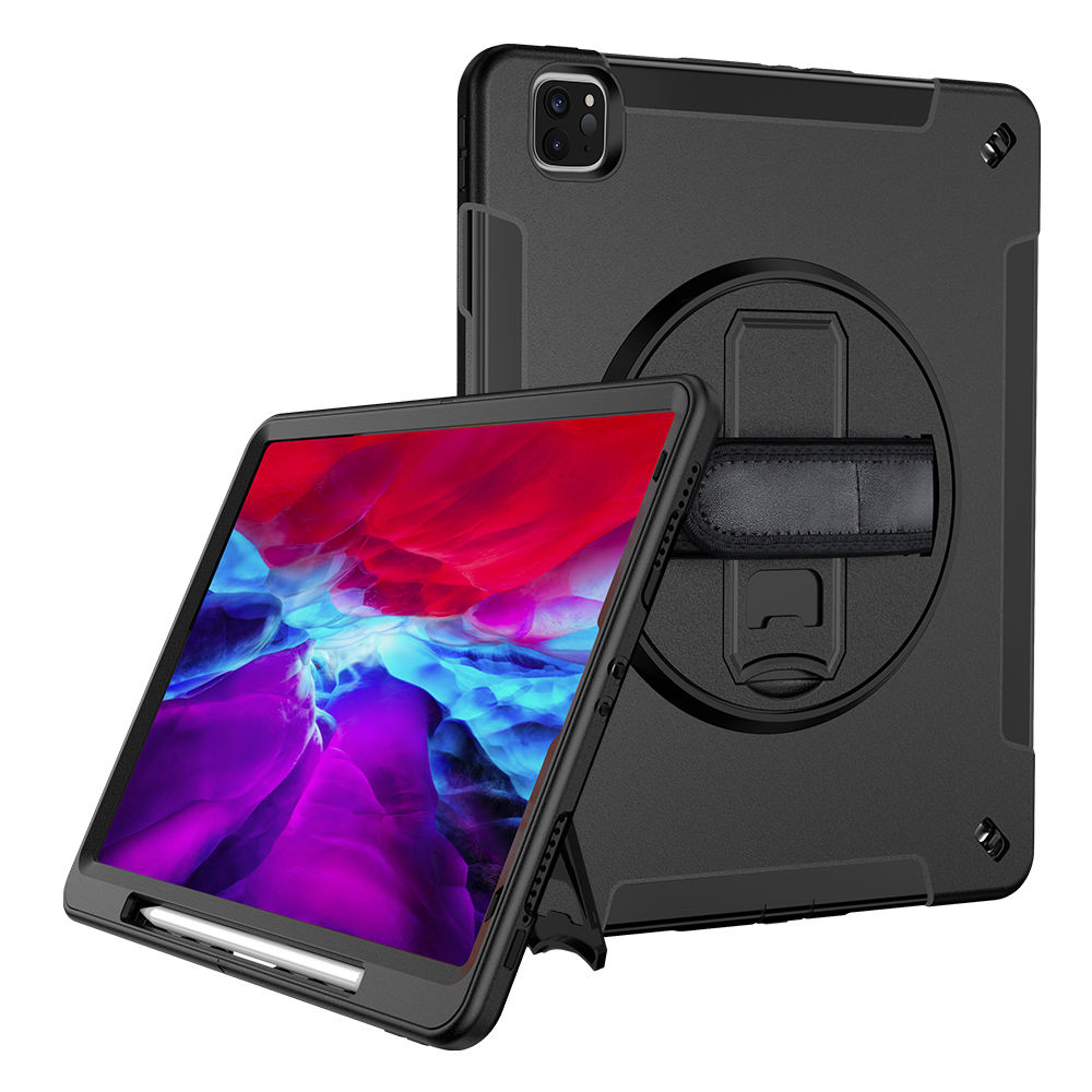 360 Degree Rotating Handheld Shockproof Case Covers For IPad 10.2 Tablet Case 10 inch, For iPad Cases