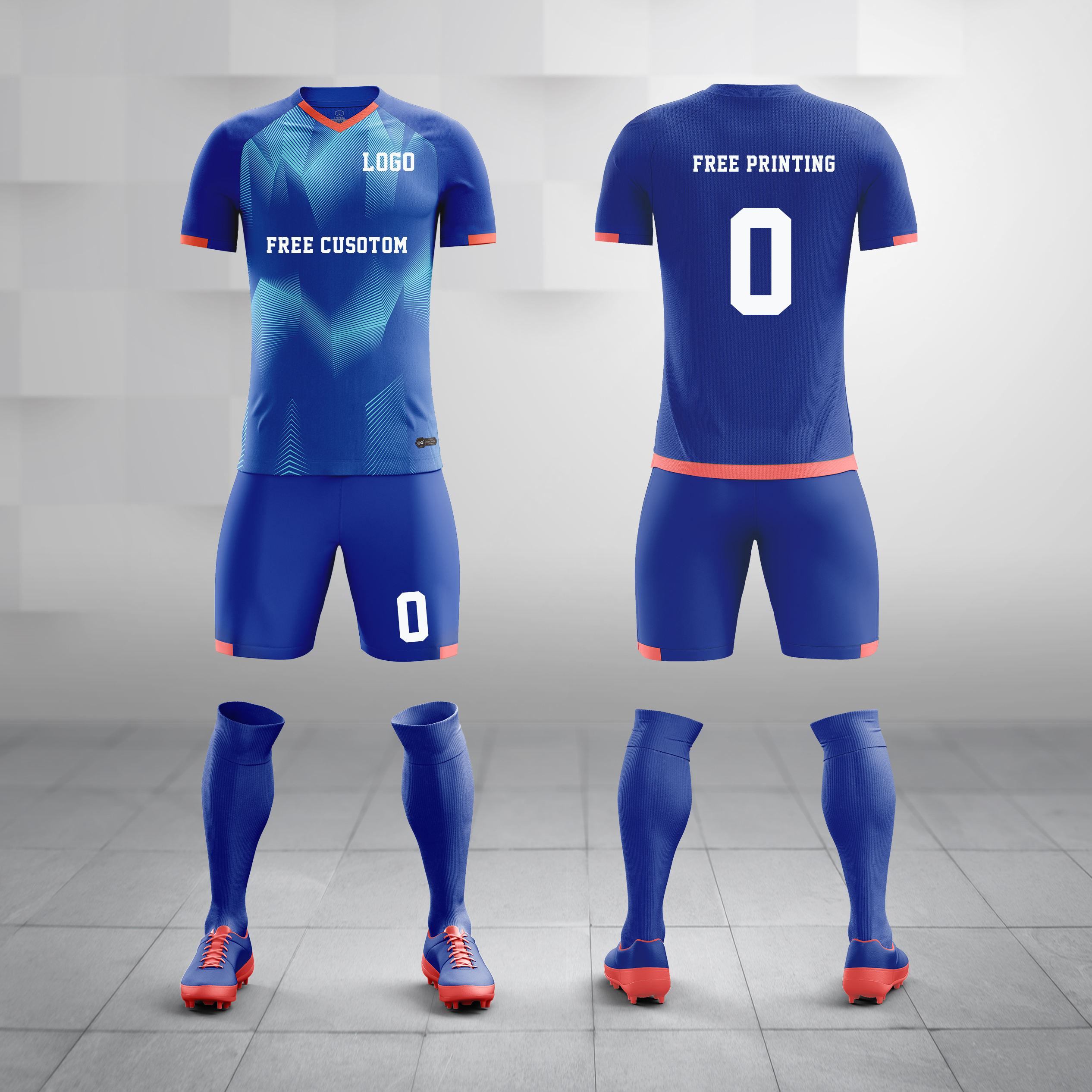 2020 New model custom latest design quick dry sublimated team soccer youth football shirts uniform jersey kits set