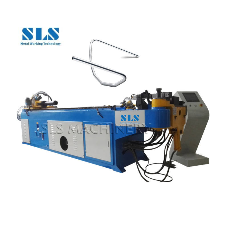Manufacturer Frequently Used Make MS Wheel Barrow and Exhaust Tube CNC Bender Hydraulic Mandrel Pipe Bending Machine Price
