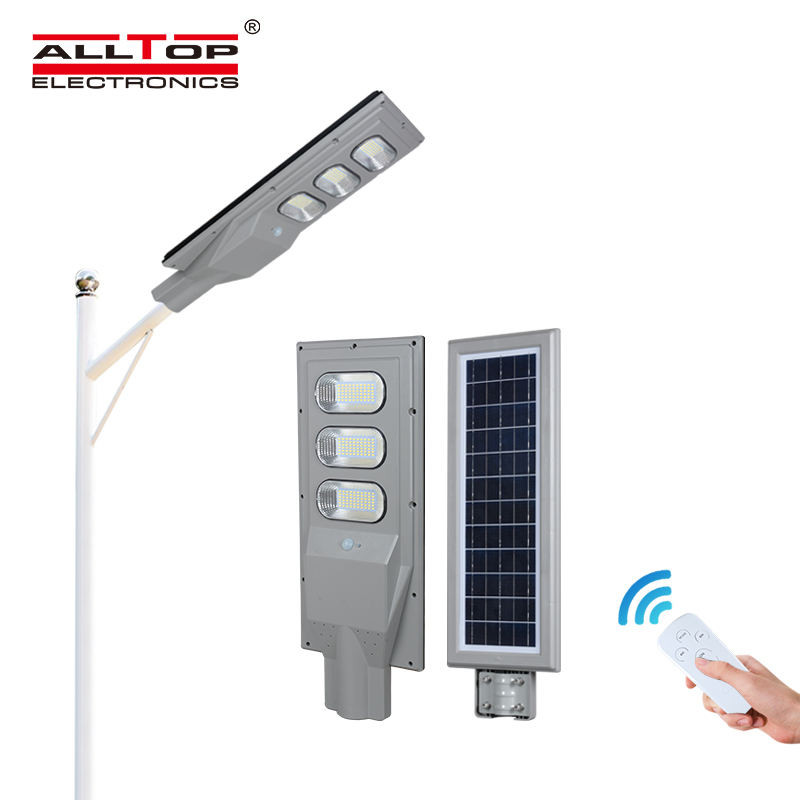 High lumen ABS outdoor waterproof ip65 30w 60w 90w 120w 150w solar led street light fixtures