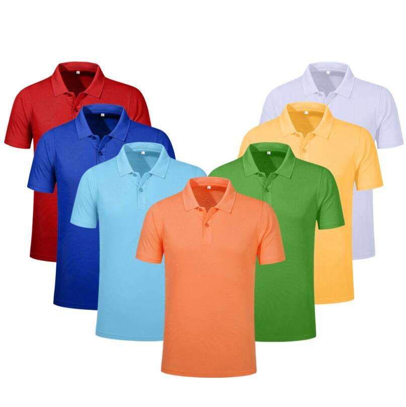 Wholesale Custom Business Casual Summer Men Golf Polo T-shirt