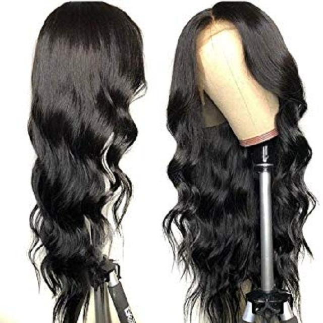 Long Size Virgin Brazilian Hair Body Wave Transparent Lace Frontal Wig Human Hair Wig Hd Lace Front Wig
