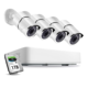4 Channel 5MP 2K HD CCTV Waterproof IR Camera Security System