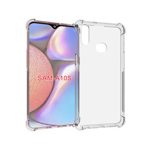 Ultra Clear Transparan Shockproof TPU Case untuk Samsung Galaxy A10s Soft Back Cover