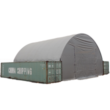 SSC2040 shipping container cover roof shelter