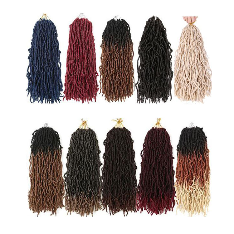 Synthetic Hair Of Cheap Bobbi Boss Nu Locs Crochet Braids Braid janet African Roots Collection Long Nu Locs 18 22 30 36 inch