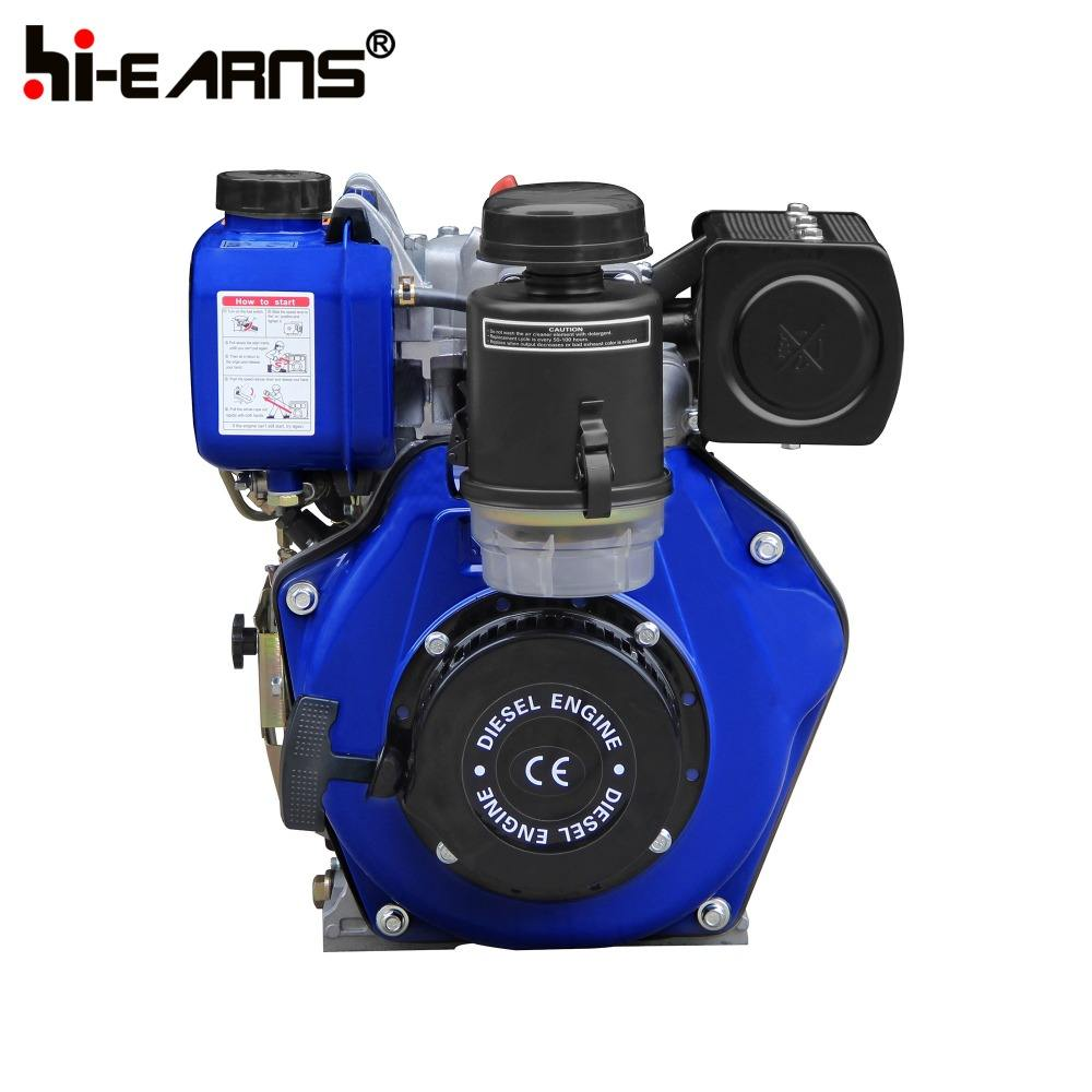 HR170FB refrigerado a ar de cilindro único cilindro do motor diesel usar cor laranja