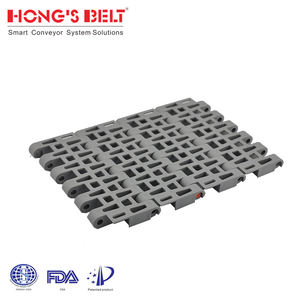 Perforated Modular Plastic Conveyor Belt for Food Industry