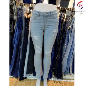 jeans mujer modelos | Pantalones vaqueros rasgados para mujer, nuevo modelo, venta al por mayor