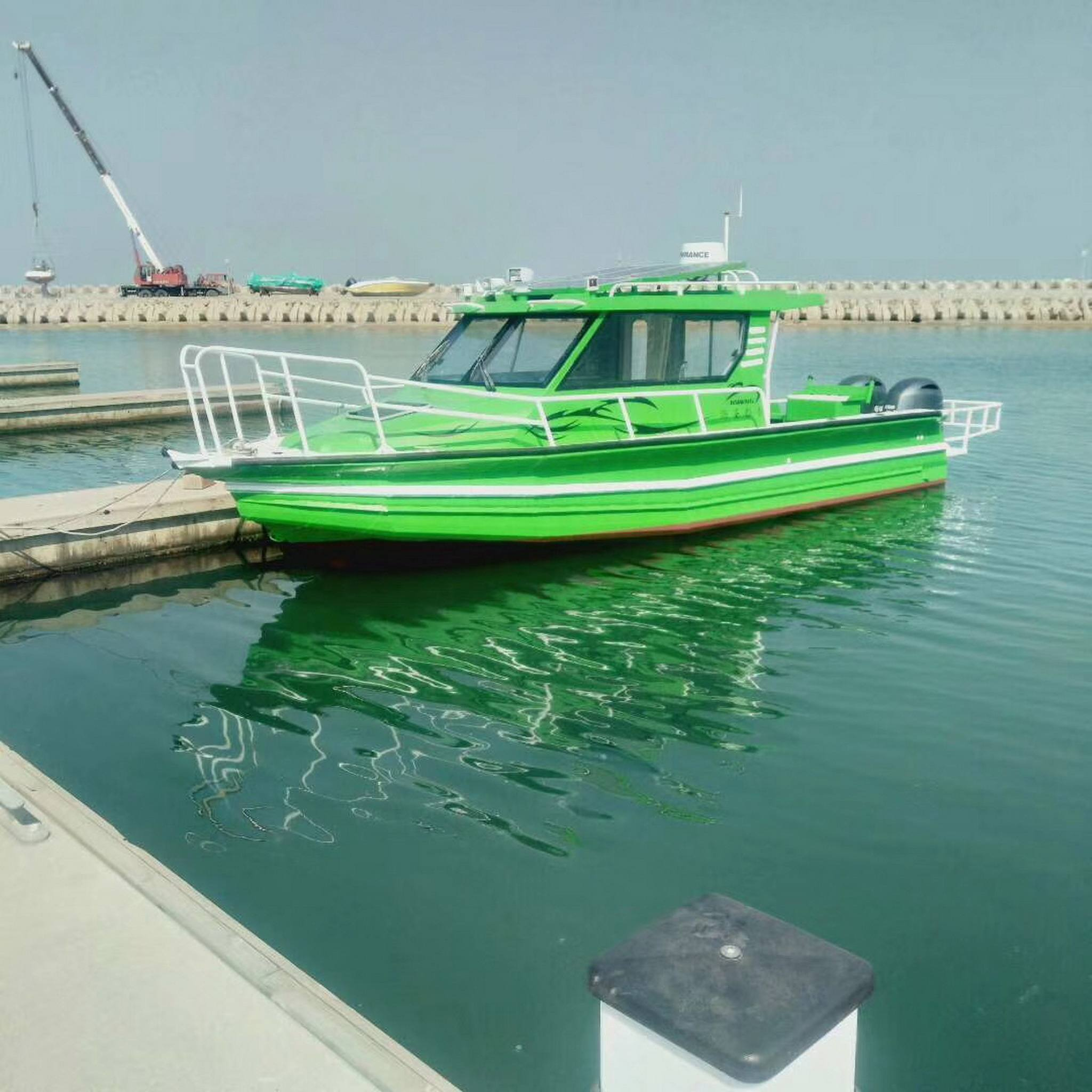2019 New Design 9m 30ft Multi-propoes Aluminum easy craft cabin fishing boat with CE for sale