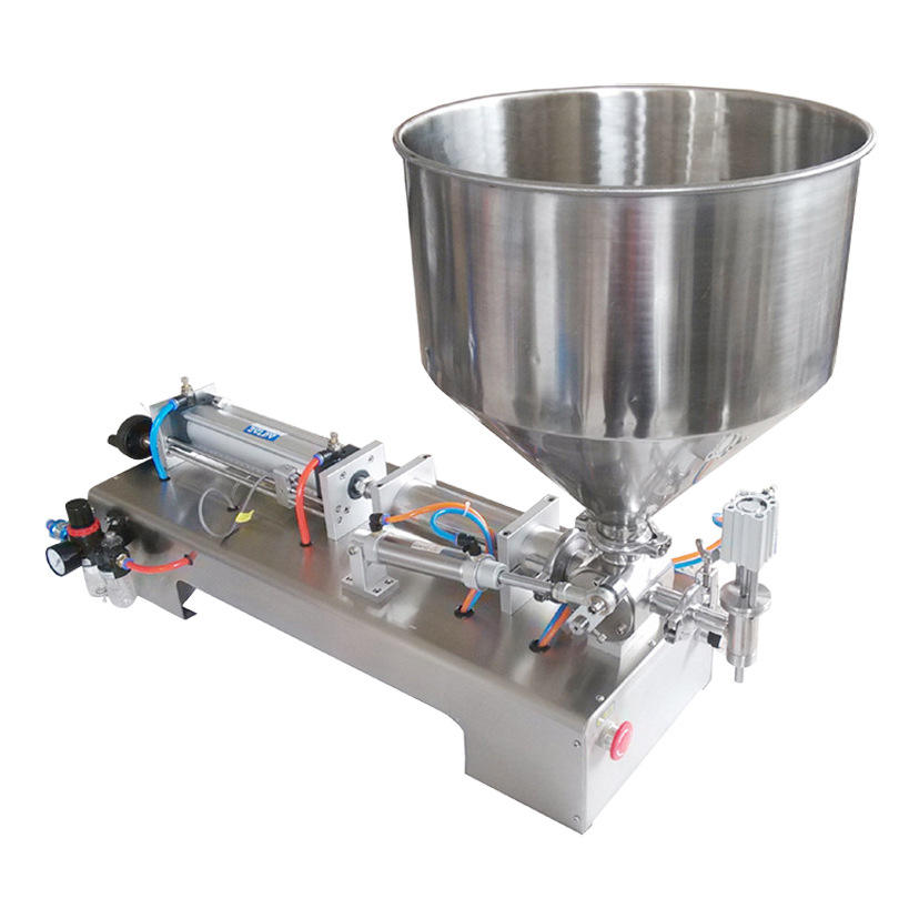 Manual Bottle Aseptic Doypack Ice Cream Shampoo Sauce Single Dose Juice Suppository Yogurt Liquid Filling Machine Small
