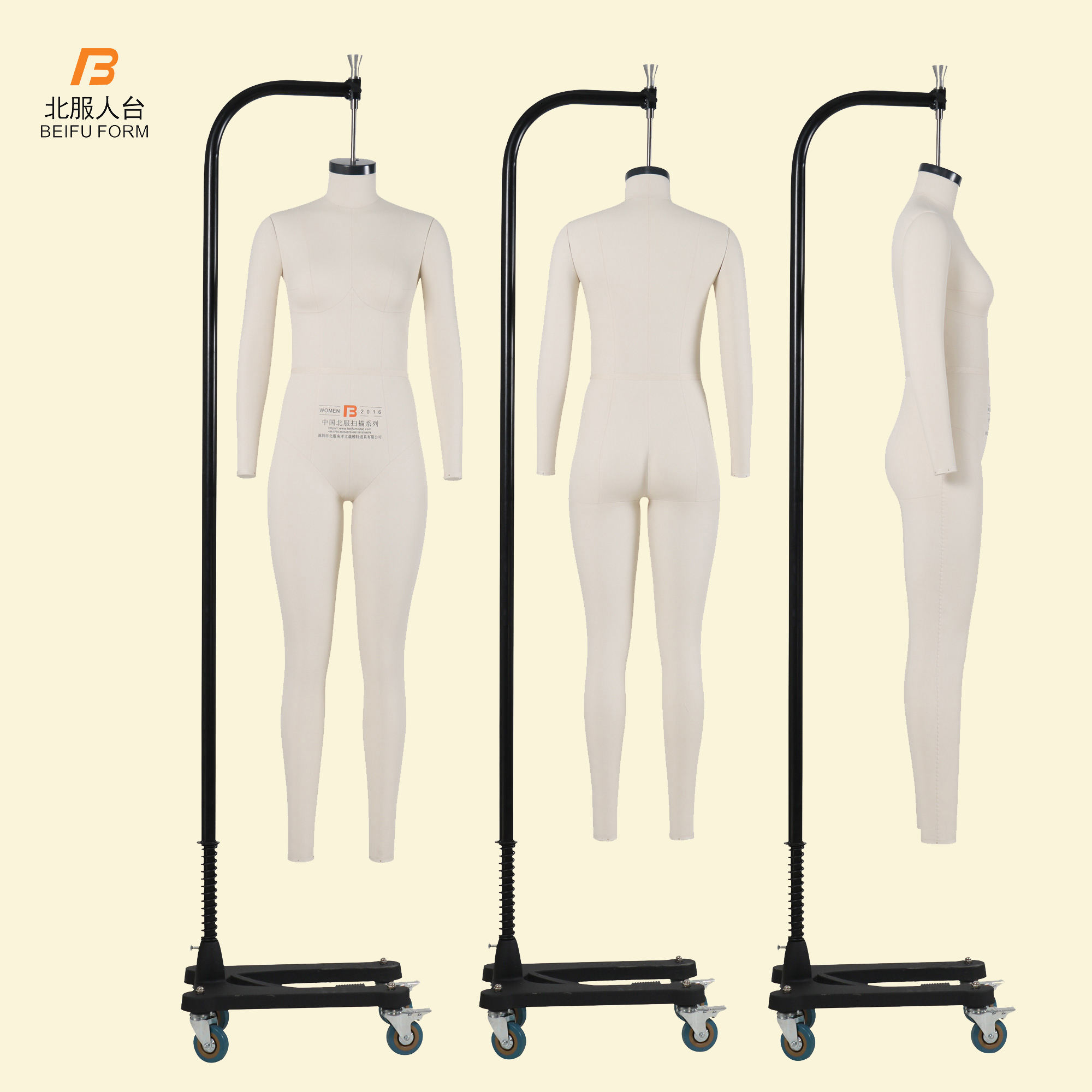 BEIFU FORM Female Full Body Mannequin of Collapsible Shoulders Dress Form for Garment Tailors Draping Model Cheap on Sale