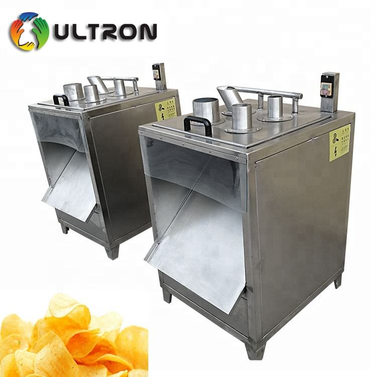 Vegetable Fruit Cutting Machine Potato Chip Slicer Machine