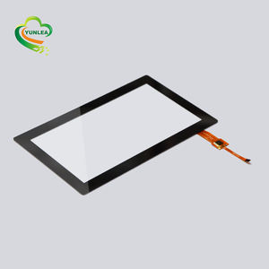 Industrielle benutzerdefinierte kapazitiven touch screen panel 7 inch touch screen panel overlay kit open frame
