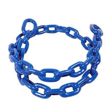 Fully plastic / PVC coated chain for swing